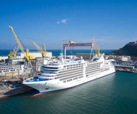 Silversea Cruises hat die Silver Moon entgegengenommen, neuntes Schiff in der Flotte der Luxus-Kreuzfahrtlinie, mit neuem Kulinarik-Konzept