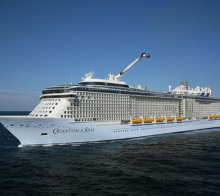 Rund 1.700 Passagiere, die auf einer Kreuzfahrt mit der Quantum of the Seas unterwegs sind, müssen wegen Corona an Bord in Quarantäne.