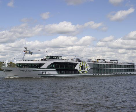 VIVA Cruises hat mit Koblenz einen neuen Hafen in das Programm genommen, die MS TREASURES startet auf der Mosel ab dem 4. April 2021