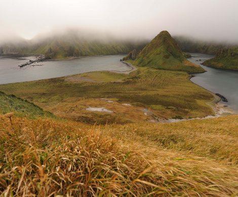 Unberührte Natur auf der Kurilen-Insel Onekotan
