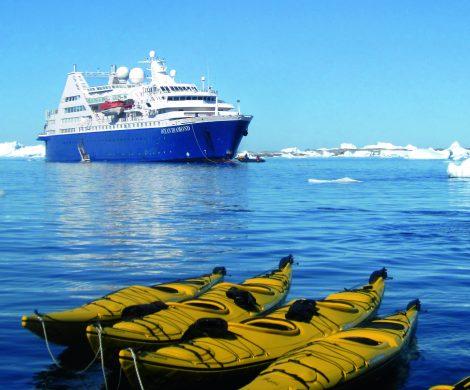 Rund um Island und nach Grönland geht es mit der Ocean Diamond von Iceland ProCruises