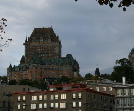 Das Château Frontenac in Quebec