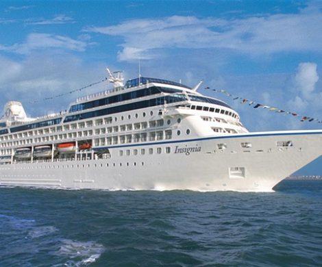 Die Insgnia von Oceania Cruises