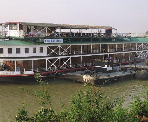 Die Bengal Ganga fährt seit 2009 auf dem Ganges