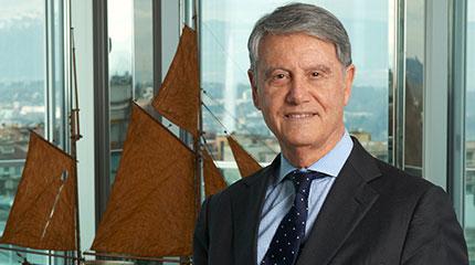 Der 76-jährige Gianluigi Aponte ist selfmade Milliardär