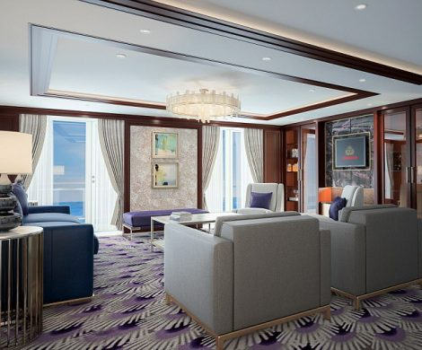 Die Suiten erhalten neue Teppiche , Möbel und Bäder