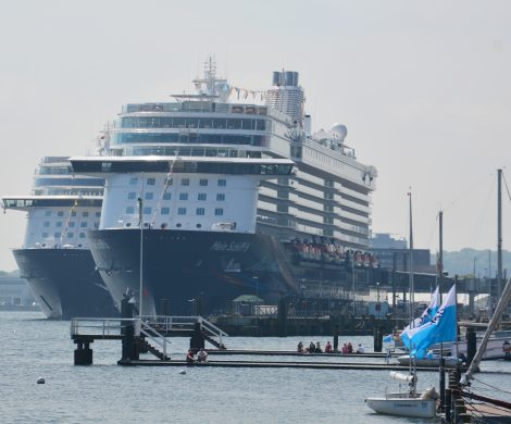 TUI Cruises entsorgt bereits regelmäßig Abwässer in Kiel