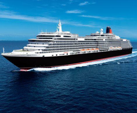 Auch die Queen Victoria von Cunard kommt 2018 nach Kiel