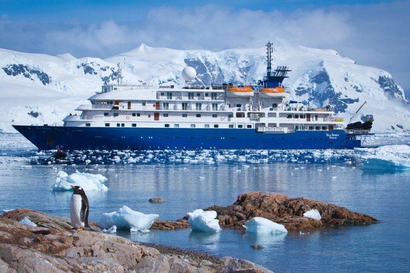 Die Sea Spirit fährt für Poseidon Expeditions in Arktis und Antarktis