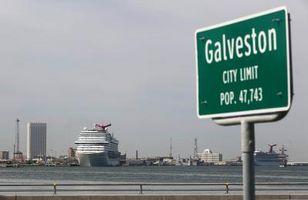 In Galveston können wegen Schäden durch Hurrikan Harvey derzeit keine Schiffe anlegen
