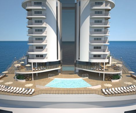 MSC Kreuzfahrten Specials, MSC Seaside, panoramic aft pool