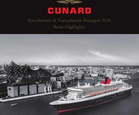 Der neue Cunardkatalog 2019