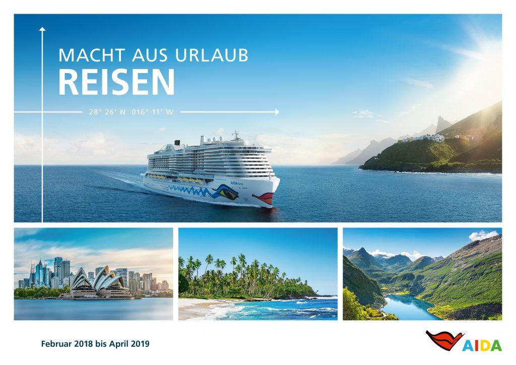 Der neue Aida Katalog für den Winter 2018/19
