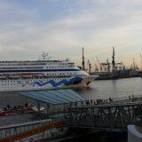 Aidacara startet zu ihrer ersten Weltreise ab Hamburg