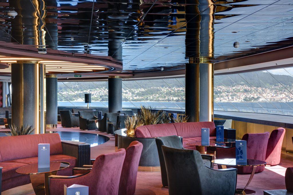 Der MSC Yacht Club wird ausgebaut: Top Sail Lounge