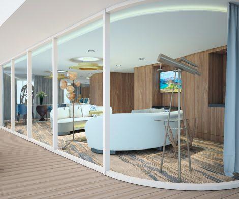 Weitläufigere Unterkünfte als die beiden Penthouse Suiten der Celebrity Flora gibt es nicht auf Galapagos-Gewässern