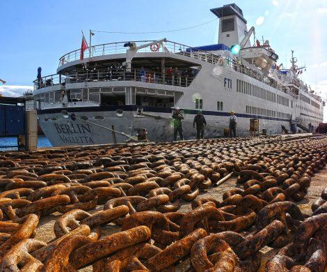 Frisch aus der Werft in Rijeka: Die MS Berlin