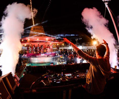 Vom 20. bis 24. April 2018 sticht die World Club Cruise mit der Mein Schiff 2 erneut in See. Von Palma de Mallorca über Marseille und Barcelona zurück nach Palma füllen internationale DJs die Decks.