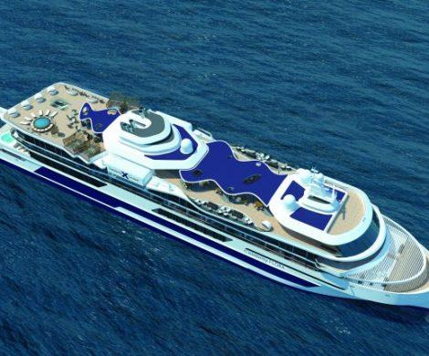 In der niederländischen Werft von De Hoop ist der Baubeginn der Celebrity Flora mit der Kiellegung des innovativen Expeditionsschiffes gestartet worden