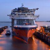 Die Celebrity Edge ist als erster Neubau der neuen Schiffsklasse der Kreuzfahrtreederei Celebrity Cruises aus ihrem Trockendock der Werft STX France in St. Nazaire ausgelaufen. Das neue Schiff stellt die nächste Generation der Luxuslinie dar und ist der erste Neubau von Celebrity seit mehr als 10 Jahren.