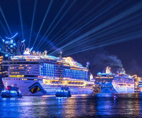 Die Hamburg Cruise Days sind ein Touristenmagnet
