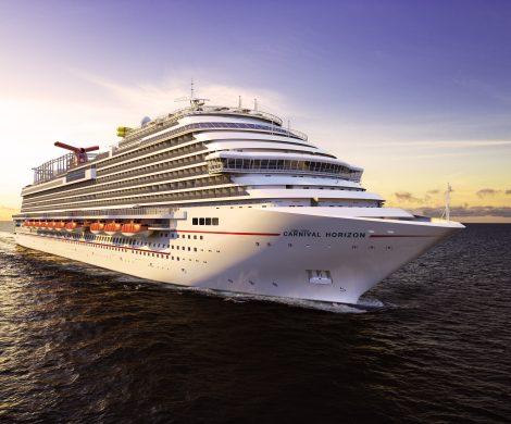 Mit der Carnival Horizon kommt das neue Flaggschiff der amerikanischen Reederei erst einmal in Europa zum Einsatz und startet ab Barcelona zu seiner Jungfernreise.