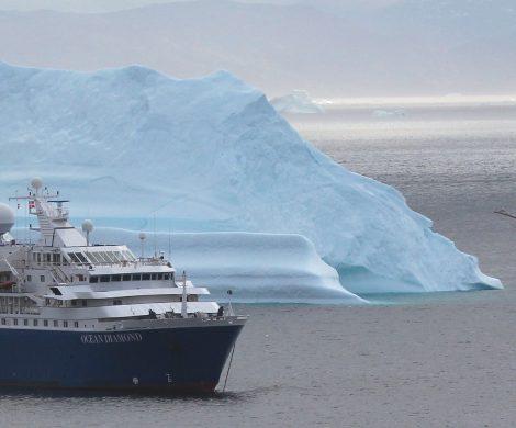 Neben den Island-Umrundungen werden auch Fahrten nach Grönland angeboten