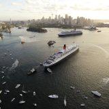 Zwischen Dezember 2019 und März 2020 faährt die Queen Elizabeth ab Sydney und Melbourne