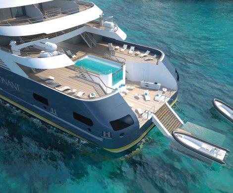 Die Marina der neuen Explorer-Klasse