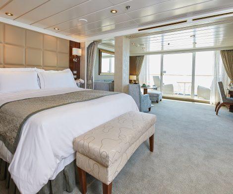 Alle Suiten wurden modernisiert