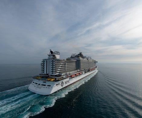 In zwei Wochen tauft MSC Kreuzfahrten sein neues Flaggschiff und 15. Flottenmitglied , die MSC Seaview. Die glamouröse Zeremonie am 9. Juni in Genua wird von Michelle Hunziker moderiert.