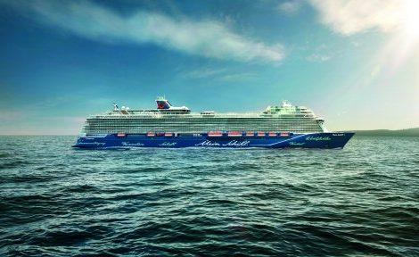 Die neue Mein Schiff 1 von TUI Cruises, die am 11. Mai zum Hamburger Hafengeburtstag getauft wird, ist besonders auf Sport- und Wellnessbegeisterte ausgerichtet. Das neue Flaggschiff ist 20 Meter länger als die 2017 in Dienst gestellte Mein Schiff 5 und hat Platz für knapp 3.000 Passagiere.