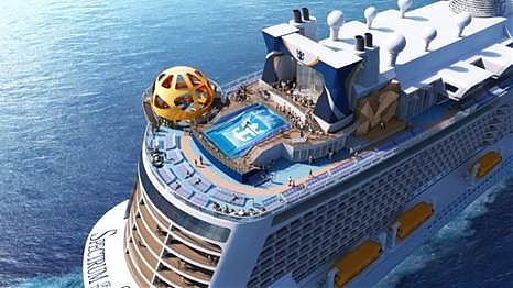 Royal Caribbean International hat Details zum ersten Schiff der Quantum-Ultra-Klasse, der Spectrum of the Seas bekannt gegeben.