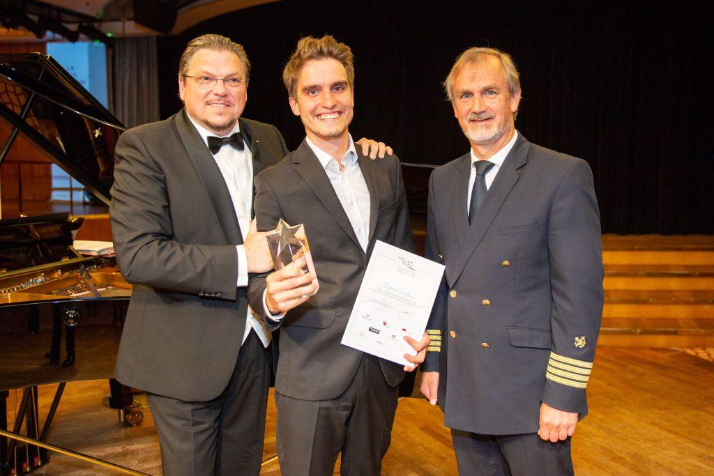 Sechs Nachwuchstalente internationaler Opernhäuser traten beim jährlichen Gesangswettbewerb Stella Maris an Bord der MS EUROPA gegeneinander an.
