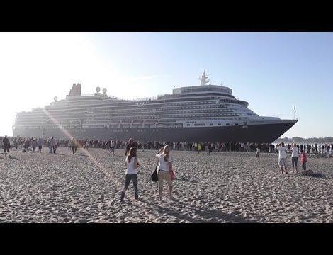 Da am Ostpreußenkai in Travemünde nur Kreuzfahrtschiffe mit einer Länge bis zu 200 Meter anlegen können, schlägt der Verein Lübeck Cruise ein neues Terminal an der Nordermole vor. Dort könnten dann auch problemlos Schiffe wie die Queen Elizabeth festmachen, die mit ihren 293 Meter Rekordhalterin in Travemünde ist