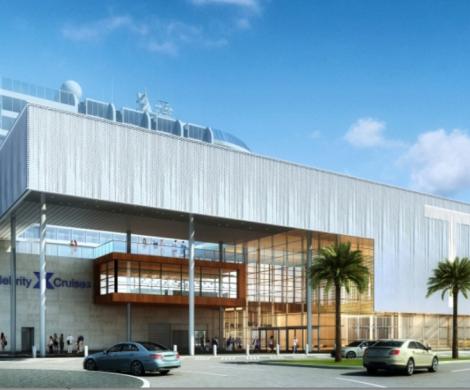 Celebrity Cruises wird ein eigenes Terminal für Kreuzfahrten in Port Everglades, Florida bauen.