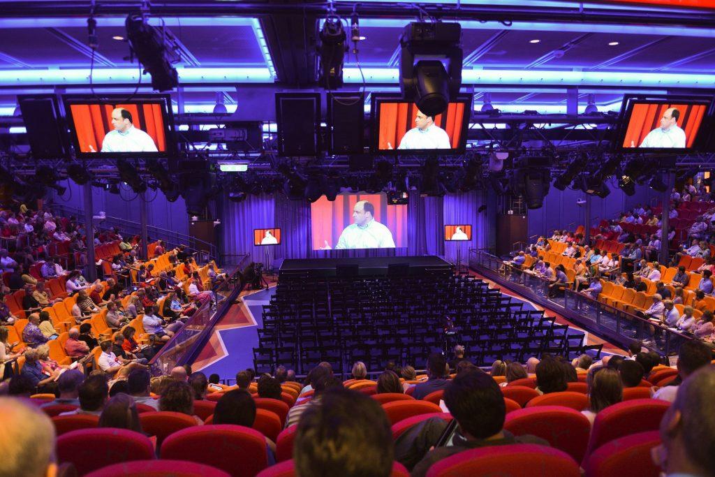 Meetings und Konferenzen von drei bis sechs Nächten an Bord der Flotte von Royal Caribbean Cruises erfreuen sich wachsender Beliebtheit.
