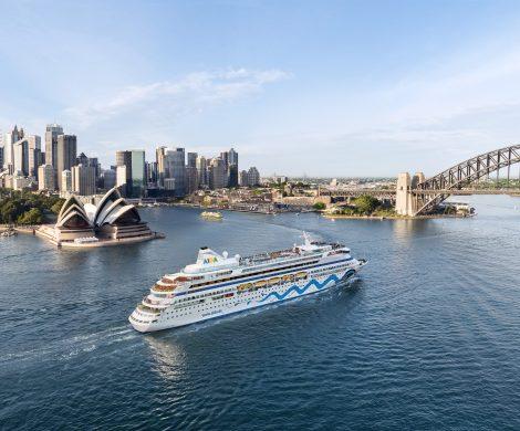 Aida bietet jetzt Weltreise-Teilstrecken auf der Aida Aura ab 4.695 Euro an. Die gesamte Weltreise führt zu 41 Häfen in insgesamt 17 Ländern.