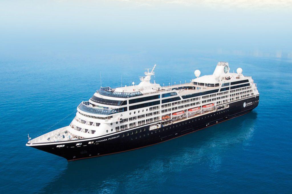 Mit einer feierlichen Taufzeremonie begrüßte Azamara Club Cruises im englischen Southampton sein neues Flottenmitglied Azamara Pursuit.