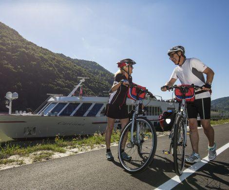 Boat Bike Tours bietet Reisen auf 50 Schiffe und mehr als 70 Touren in elf Ländern. Der Spezialist bietet Kreuzfahrten mit maßgeschneiderten Radausflügen.
