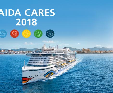 AIDA will die Emissionen der gesamten Flotte so weit wie möglich senken. 2023 wird mehr als die Hälfte aller Gäste auf AIDAs LNG-Kreuzfahrtschiffen reisen.
