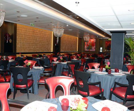 Das Restaurant Red Ginger
