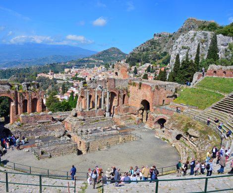 Das Theater in Taormina