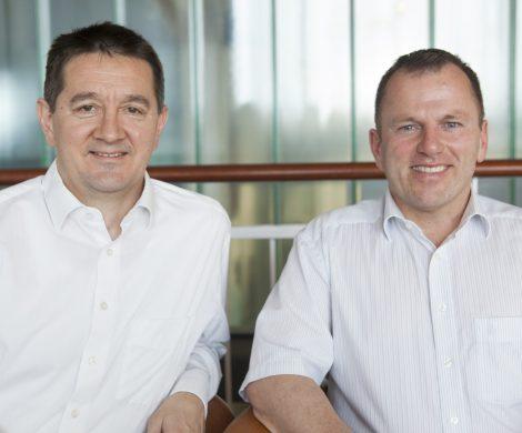 Die beiden Gründer von Trusted Blogs: Rüdiger Schmidt (l.) und Eduard Andrae (r.)