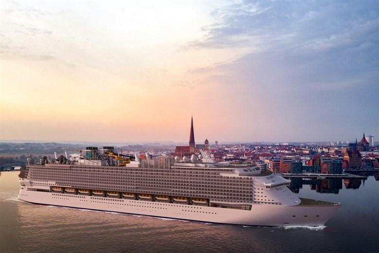Die Global 1 wird das größte Kreuzfahrtschiff der Welt sein und das größte Passagierschiff, das je in Deutschland gebaut wurde.
