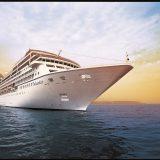 Die Nautica von Oceania Cruises hat sich beim starken Sturm über Schottland aus ihrer Verankerung am Hafen von Greenock bei Glasgow losgerissen.