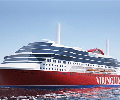 Viking Line lässt im chinesischen Xiamen eine besonders umweltfreundliche LNG-Fähre mit einer Länge von 218 Metern für 2800 Passagiere bauen.