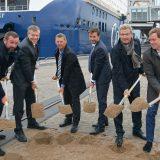 Start für den Bau der ersten Landstromanlage im Kieler Handelshafen mit einer maximalenAnschlussleistung von 4,5 Megawatt (MW)