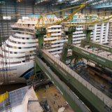 Kreuzfahrt-Fans können heute, am Sonntag, 21. Oktober, von 18.00 bis 18.30 Uhr im ZDF den Bau der Aidanova auf der Meyer-Werft in Papenburg miterleben