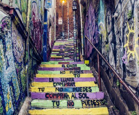 Neruda-Gedicht auf den Stufen